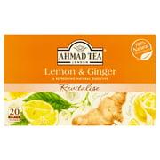 Ahmad Tea Lemon & Ginger Herbal Tea, 20 count, 1.4 oz