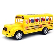 Super Student School Bus RC Car LED Ready To Run RTR, Plays Sounds & Flashes Lights