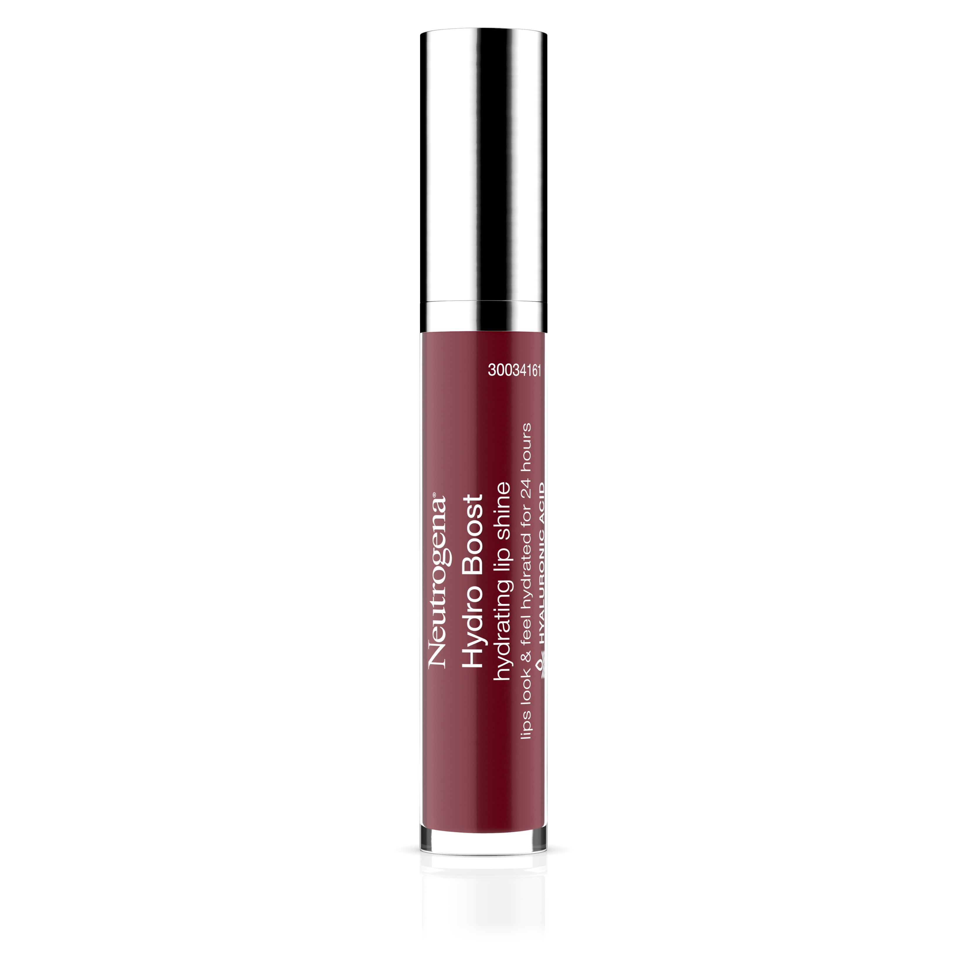 Neutrogena Hydro Boost Hydrating Lip Shine, 70 Velvet Wine Color 0.10 Oz
