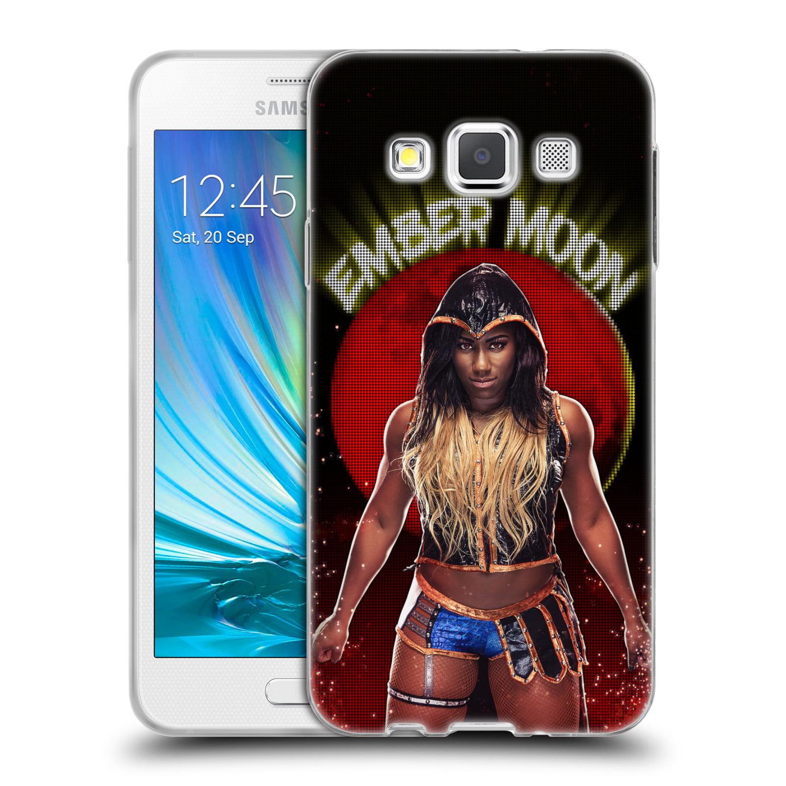OFFICIAL WWE EMBER MOON SOFT GEL CASE FOR SAMSUNG PHONES 2