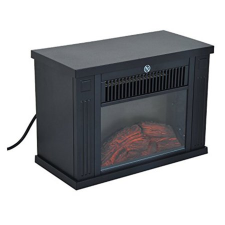 (HomCom 14 in. 1000 Watt Free Standing Electric Fireplace)