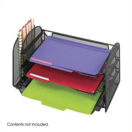 Scranton & Co Black Mesh Desk Organizer - image 1 of 1