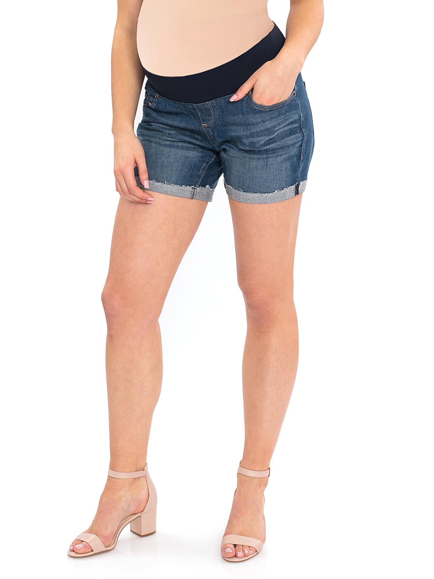 Maternity Denim Shorts by Generic