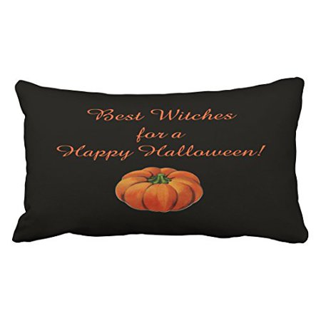 WinHome Halloween Best Witches Throw Pillow Covers Cushion Cover Case 20X30 Inches Pillowcases Two Side](Best Films To Watch On Halloween)