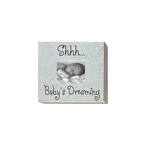 Forest Creations Shhh... Baby's Dreaming Picture Frame