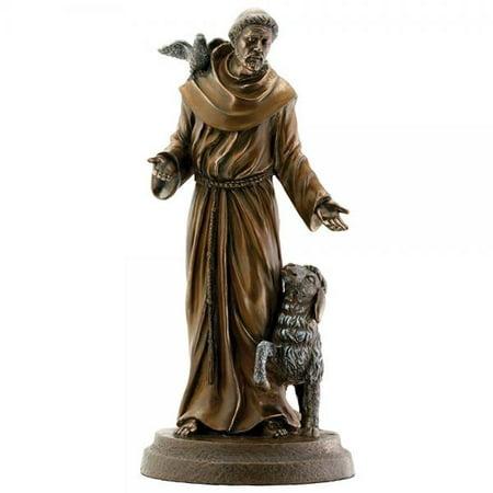 Saint Francis Bronze Religious Christian Catholic - St Francis Statue