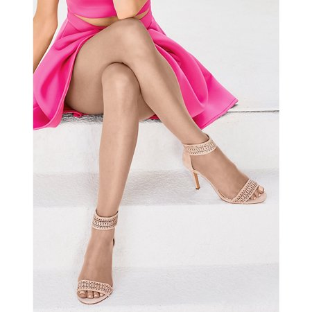Silk Reflections Control Top Toeless Pantyhose