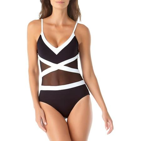 Hot Mesh 1-Piece Swimsuit