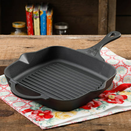 The Pioneer Woman Timeless Cast Iron 10.25