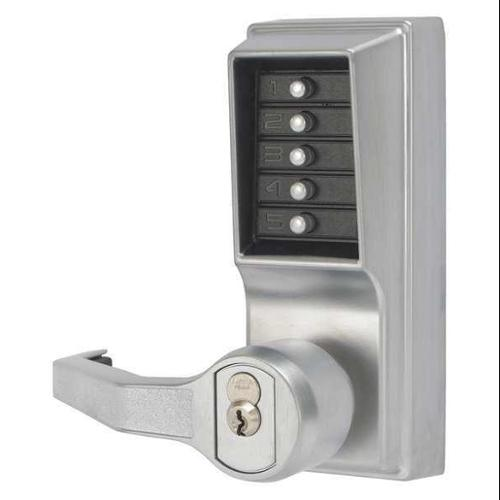 SIMPLEX LL1021M26D41 Push Button Lock,Entry,Key Override