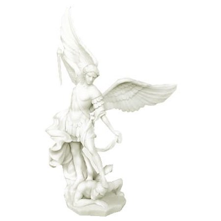 Saint St. Michael The Archangel Statue Replica Figurine (Small St Michael Archangel Statue)