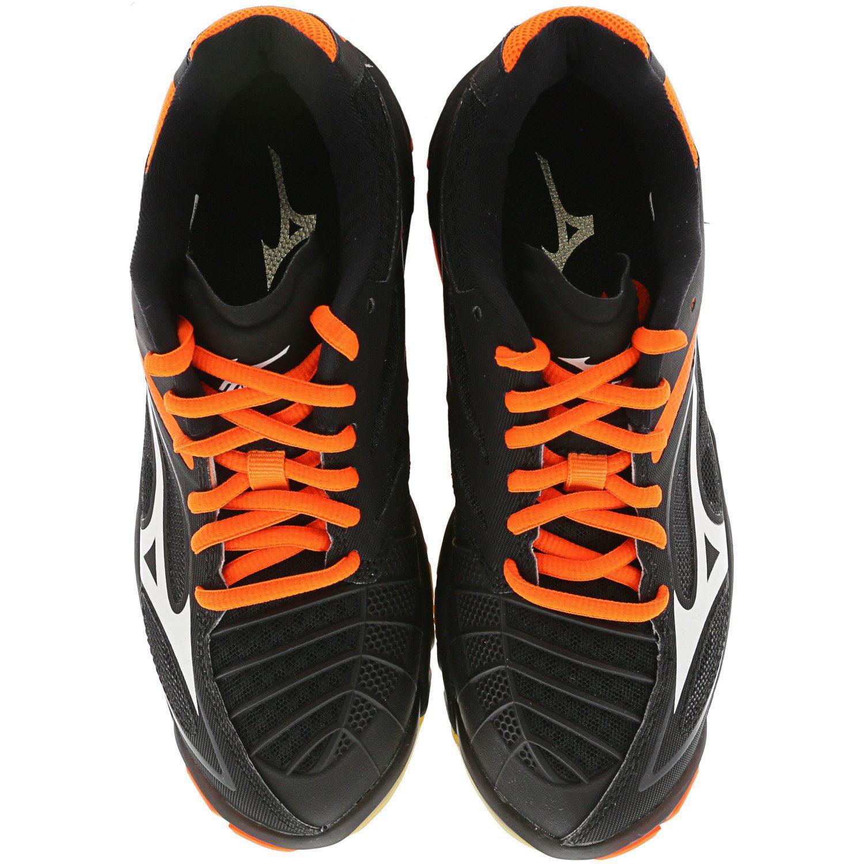 mizuno volleyball wave lightning orange