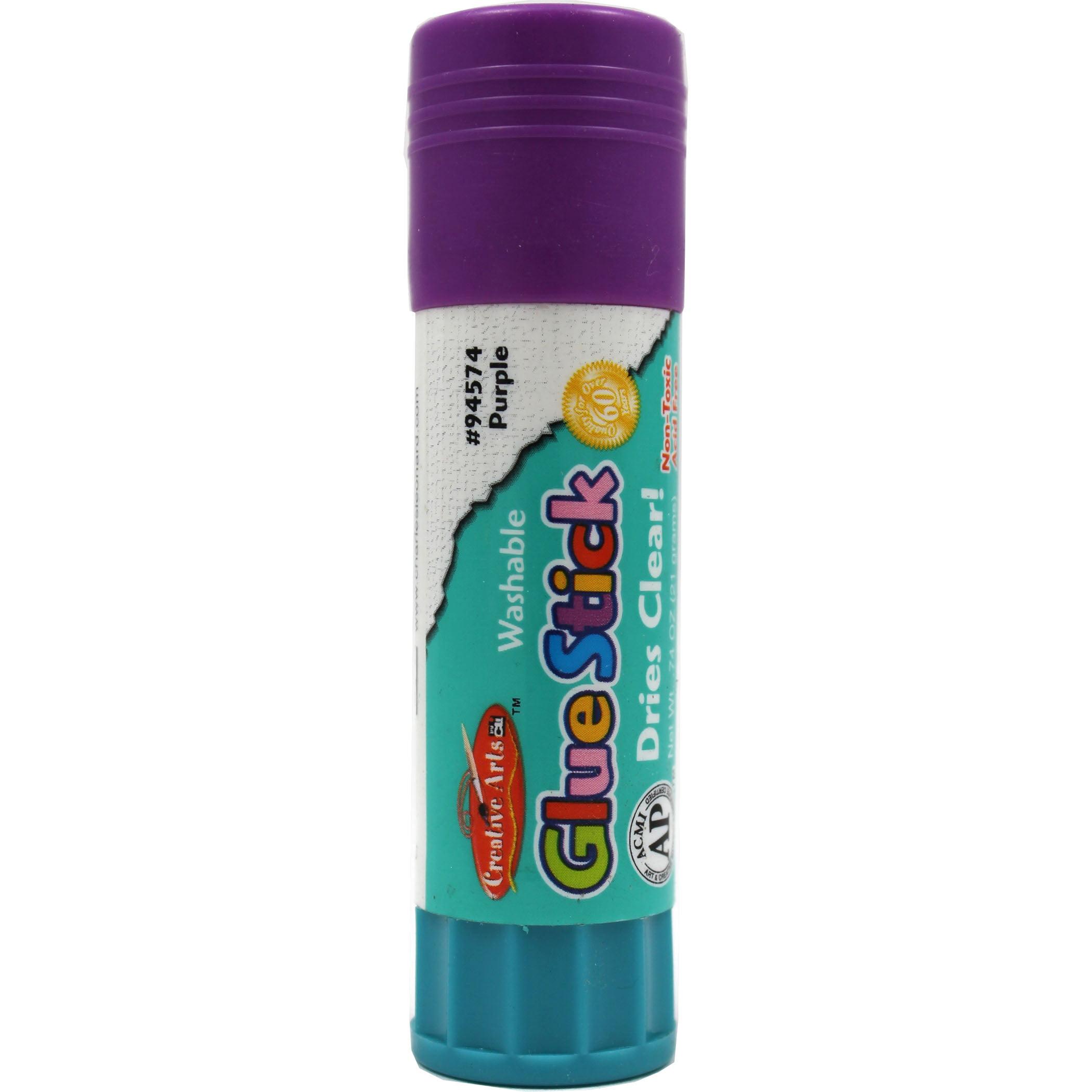 Glue Sticks, Purple, .74 oz, Set of 36
