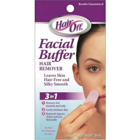 Hair Off Facial Buffer (HairOff Facial Buffer 3 Each)