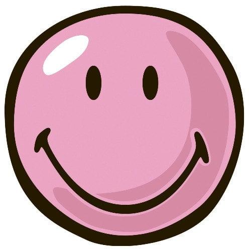 Fun Rugs Smiley World Pink Smiley Area Rug