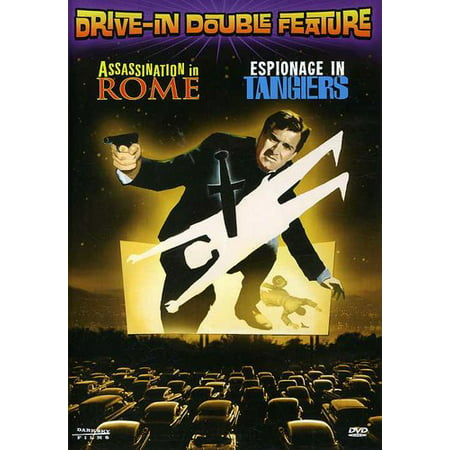 Drive In Movie Double Feature  Assassination In Rome   Espionage In Tangiers