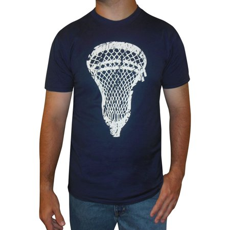 7ae61978c6f4f Zone Apparel Lacrosse - Zone Apparel Lacrosse Men's T-shirt - Lacrosse Head  - Gift for Lacrosse Players - Walmart.com