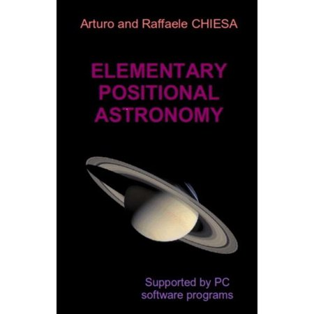Elementary Positional Astronomy Supported by PC Software Programs -