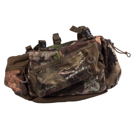 Summit Deluxe Mossy Oak Camo Tree Stand Hunting Gear Storage Side Bag (2 (Summit Mall Stores)