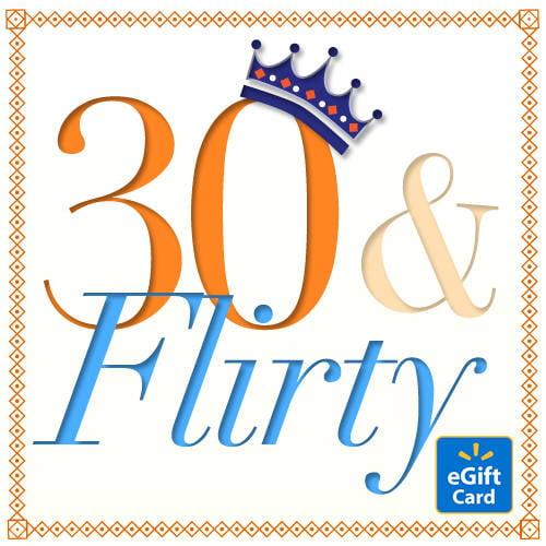 30th Birthday Walmart eGift Card