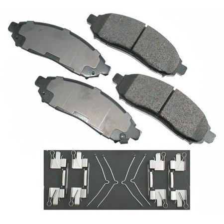 Go-Parts OE Replacement for 2015-2018 Chevrolet City Express Front Disc Brake Pad Set for Chevrolet City Express