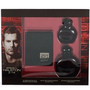 HALSTON Z-14 by Halston Gift Set -- 2.5 oz Cologne Spray + 1 oz After Shave Lotion + Jeff Gordon Signature Wallet