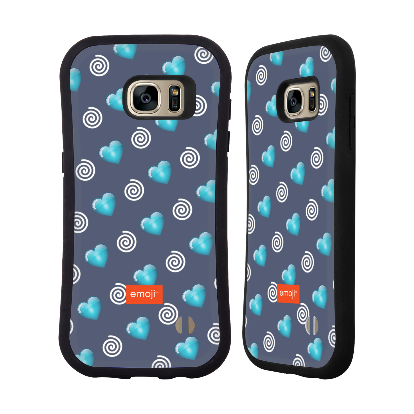 OFFICIAL EMOJI WINTER PATTERNS HYBRID CASE FOR SAMSUNG PHONES