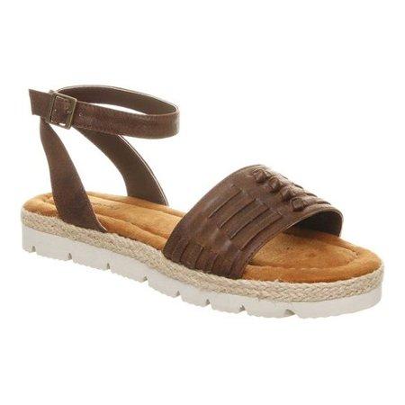 6cb0a689c10 Bearpaw - Women s Aubree Ankle Strap Huarache Sandal - Walmart.com