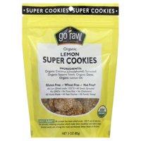 Go Raw Lemon Cookies, 3-Ounce (Pack of 4)