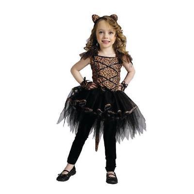 IN-MC0695TD2 Girls Ballerina Leopard Halloween Costume for Toddlers TODDLER 2T