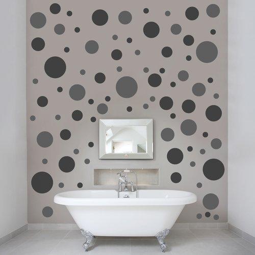 Wallums Wall Decor Polka Dots Wall Decal