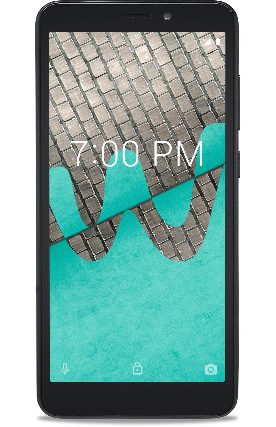 Boost Mobile ANS Wiko Ride 16 GB Prepaid Smartphone, Black
