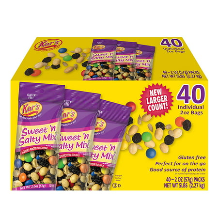Kar's Sweet n Salty Mix (2 oz. ea., 40 ct.) 40 Individual 2 oz Bags ()