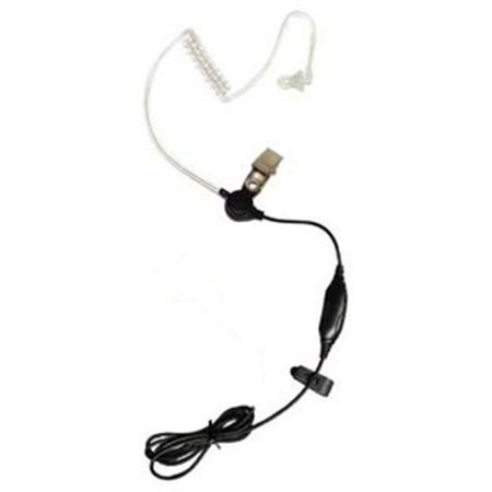 KLEIN STARM1 Earpiece with Ptt Clear Accustic Coil-Motorola Radio - image 1 of 1