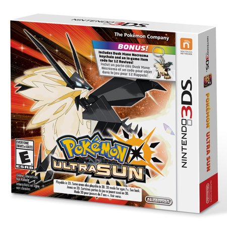 Pokemon Ultra Sun Starter Bundle  Nintendo 3Ds