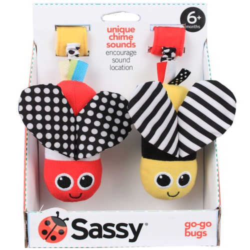 Sassy Go-Go Bugs, Colors May Vary