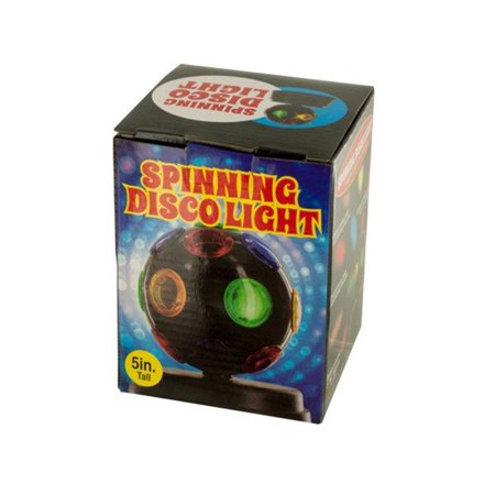 Spinning Disco Light (Bulk Buys OL172-2 Mini Spinning Disco Party Light, 2)