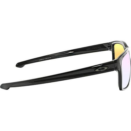 c326927480e56 Oakley Polarized Silver OO9262-38 Black Rectangle Sunglasses - image 1 of 3  ...
