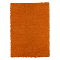 Ottomanson Solid Contemporary Living and Bedroom Soft Shaggy Area and Runner Rugs