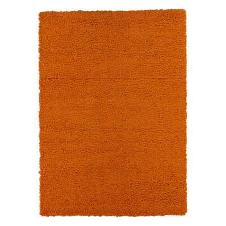 Boy Rag - Ottomanson Solid Contemporary Living and Bedroom Soft Shaggy Area and Runner Rugs