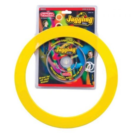 Duncan Juggling Rings, Colors May (Juggling Pins)