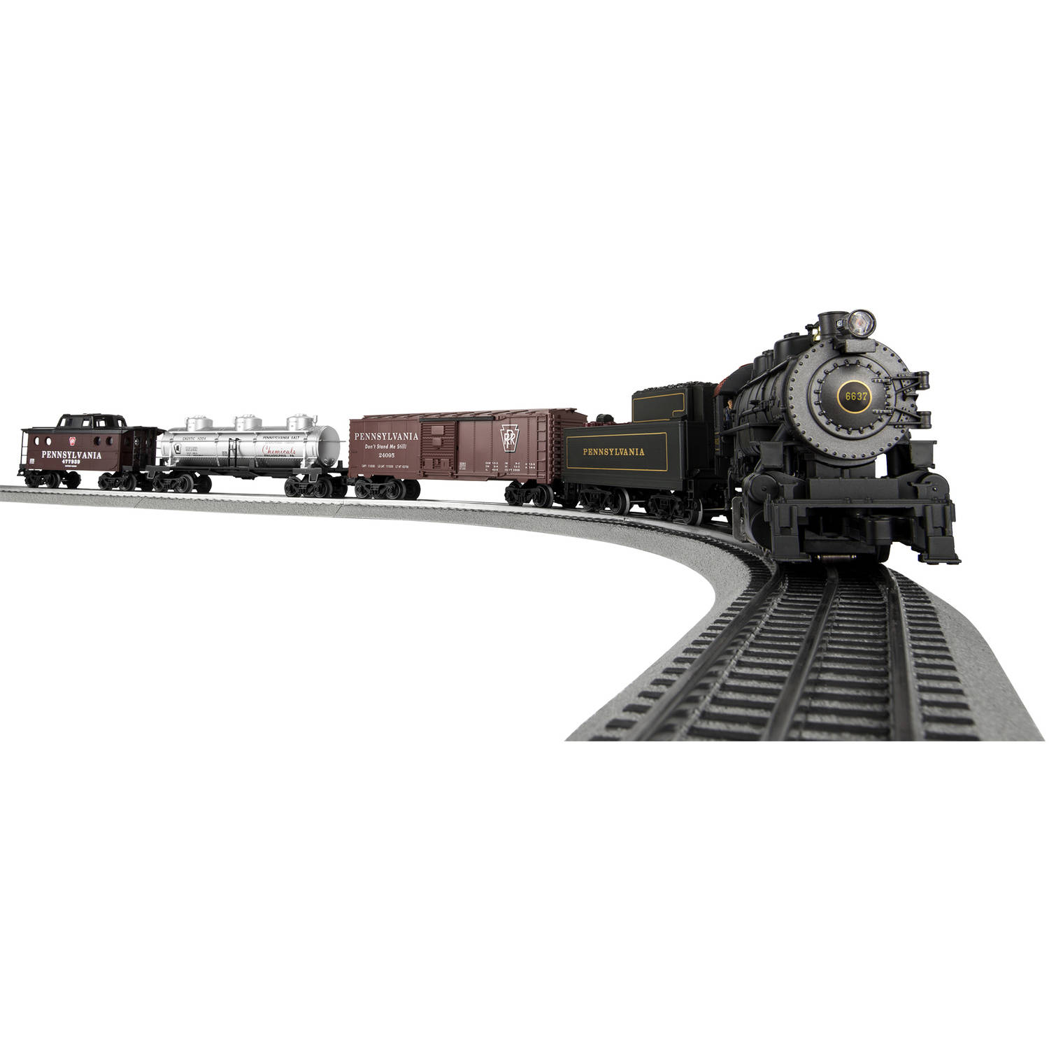 Lionel Trains PennSylvania Flyer LionChief 0-8-0 Freight Remote Control Set with BlueTooth... by Lionel Trains