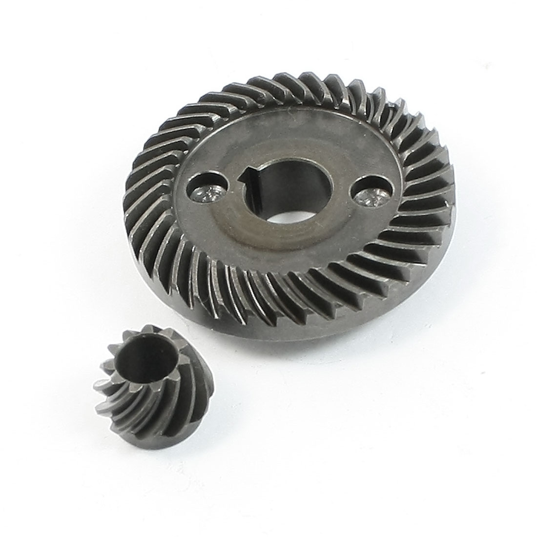 Unique Bargains Repair Part Spiral Bevel Gear Pinion Set for LG 100 Angle Grinder