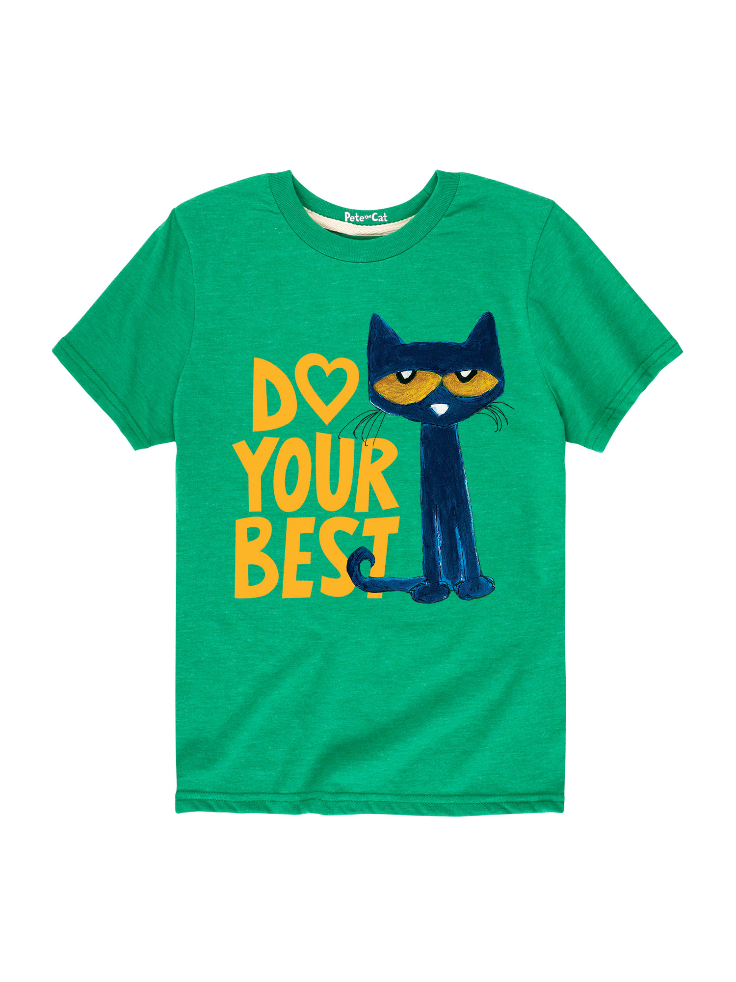 Pete The Cat Pete Do Your Best - Toddler Short Sleeve Tee