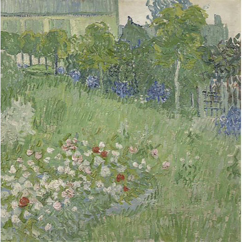 Buy Art For Less 'Daubigny's Garden,1890' by Vincent Van Gogh Painting Print on Wrapped Canvas