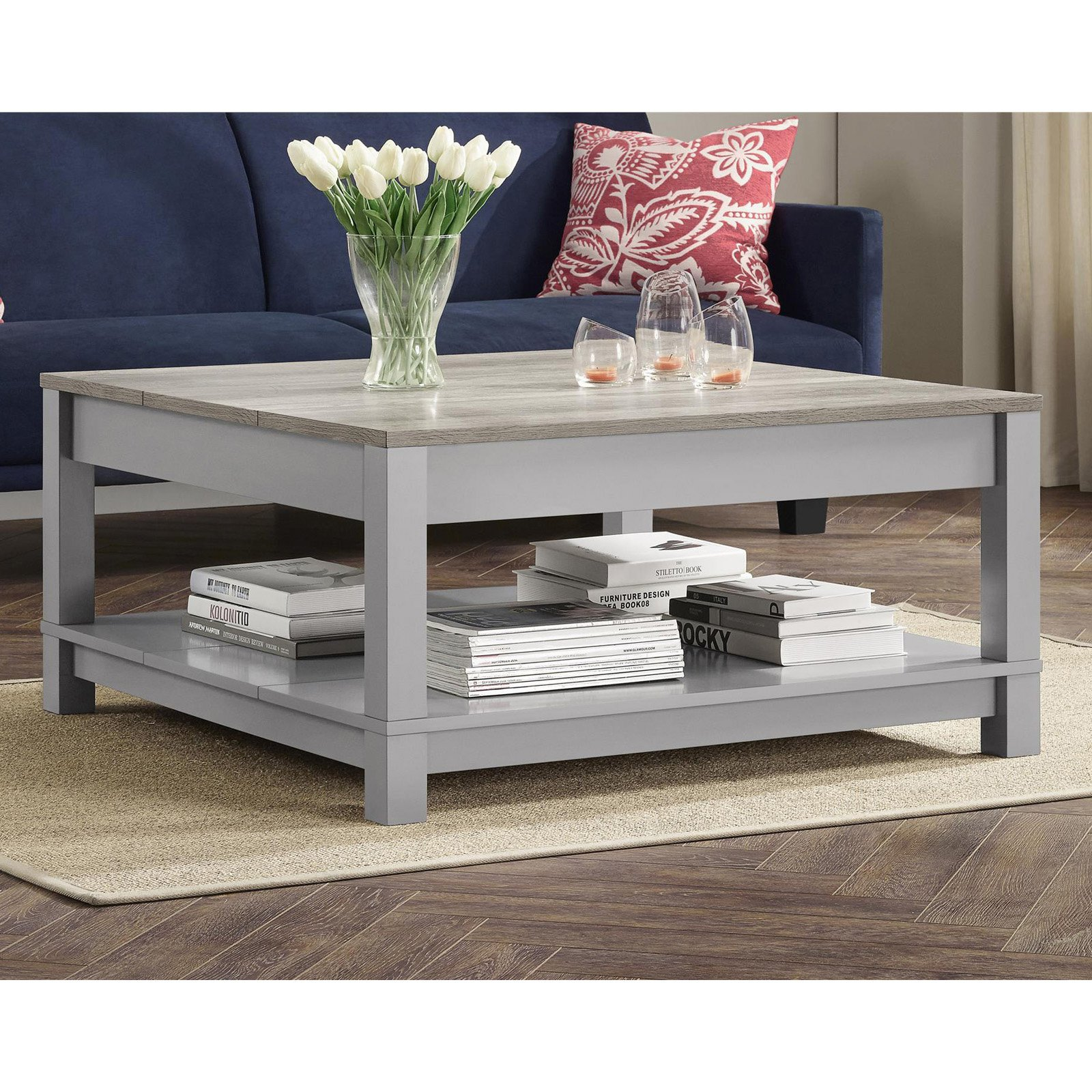 Better homes and gardens langley bay coffee table multiple colors walmart com