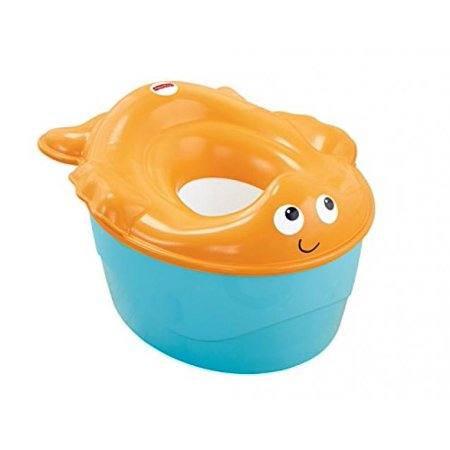 Fisher-Price 3-in-1 Potty, Goldfish Fun and Ginsey Sesame Street Potty Training Rewards Kit