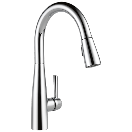 Delta Essa Single Handle Pull-Down Kitchen Faucet in Chrome 9113-DST ()