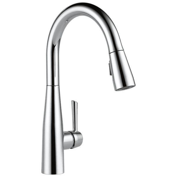 Delta Essa Single Handle Pull Down Kitchen Faucet In Chrome 9113 Dst Walmart Com Walmart Com