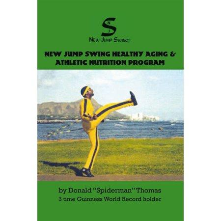 New Jump Swing Healthy Aging & Athletic Nutrition Program - (Best Vertical Jump Program)